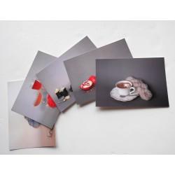 Lot de 5 cartes postales...