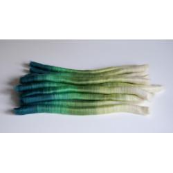 rolags dégradés mérinos pour filage artisanal