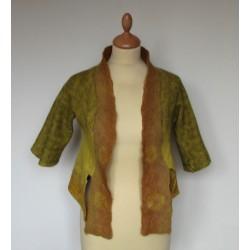 Veste nuno laine et soie,...