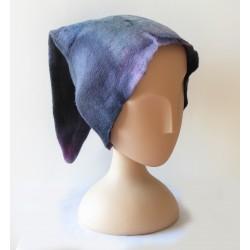 Bonnet de lutin violet en...