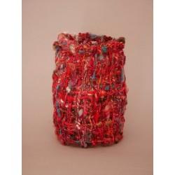 """""""Foison"""", sculpture en fil..."""