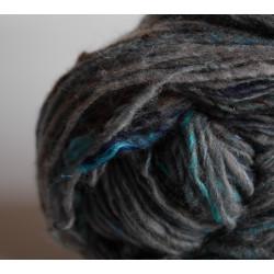 "Écheveau d'art ""Tweed marin"""