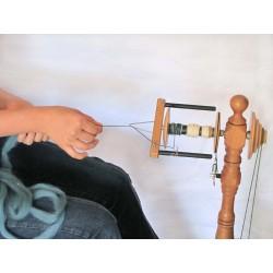 Initiation au filage au rouet